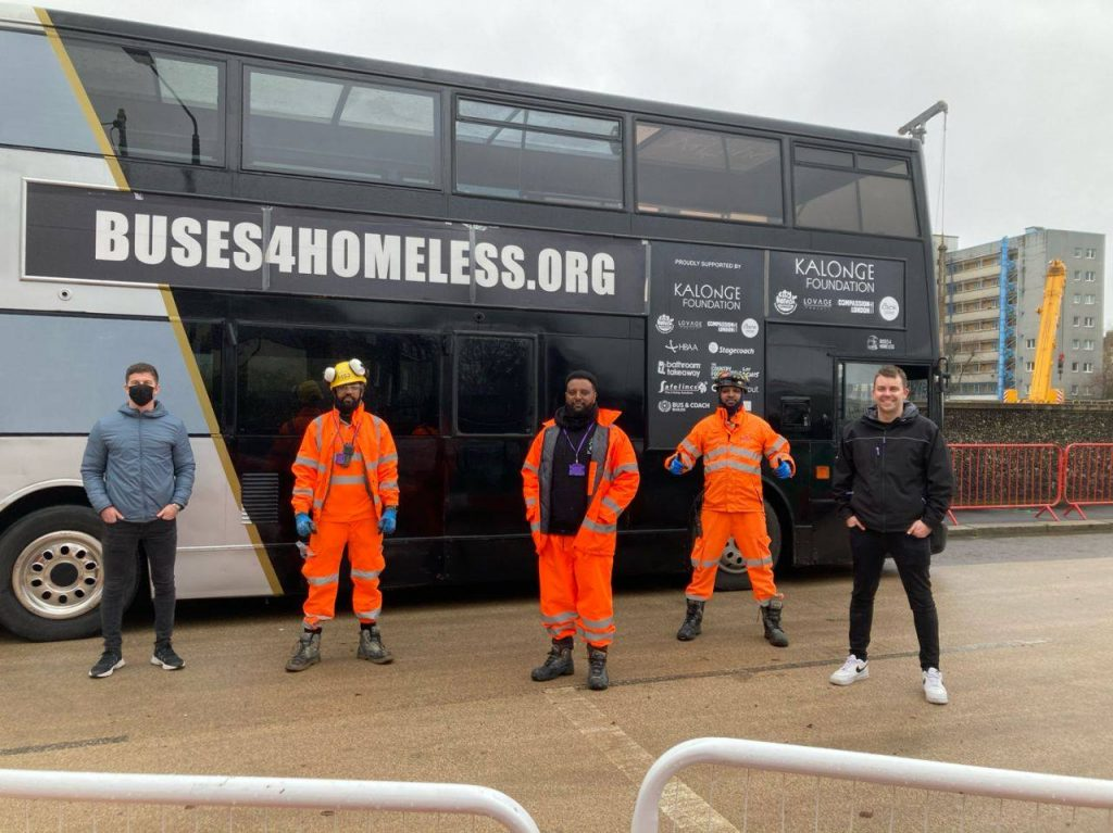 DSG take part in fantastic event to support the homeless organised by SCS Railways.
