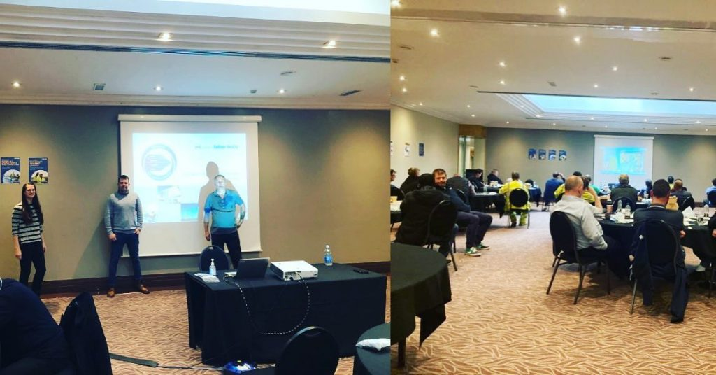 HSW Manager Ruairi Coffey delivers MSP+ Behavioural Safety training