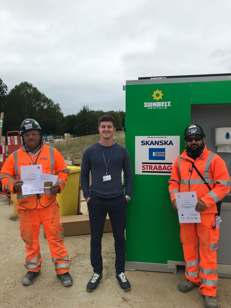 Congratulations to our Front Line Supervisors Marian Rezmuves and Nirvair Singh on completing their L3 NVQ in Occupational Work Supervision.