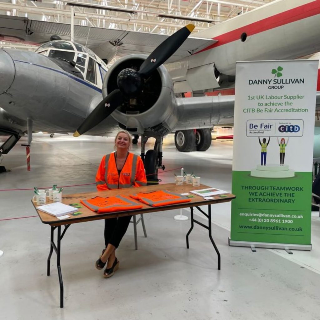 Talent Acquisition Manger, Donna Woolmore attends recruitment event by BuildForce Programme