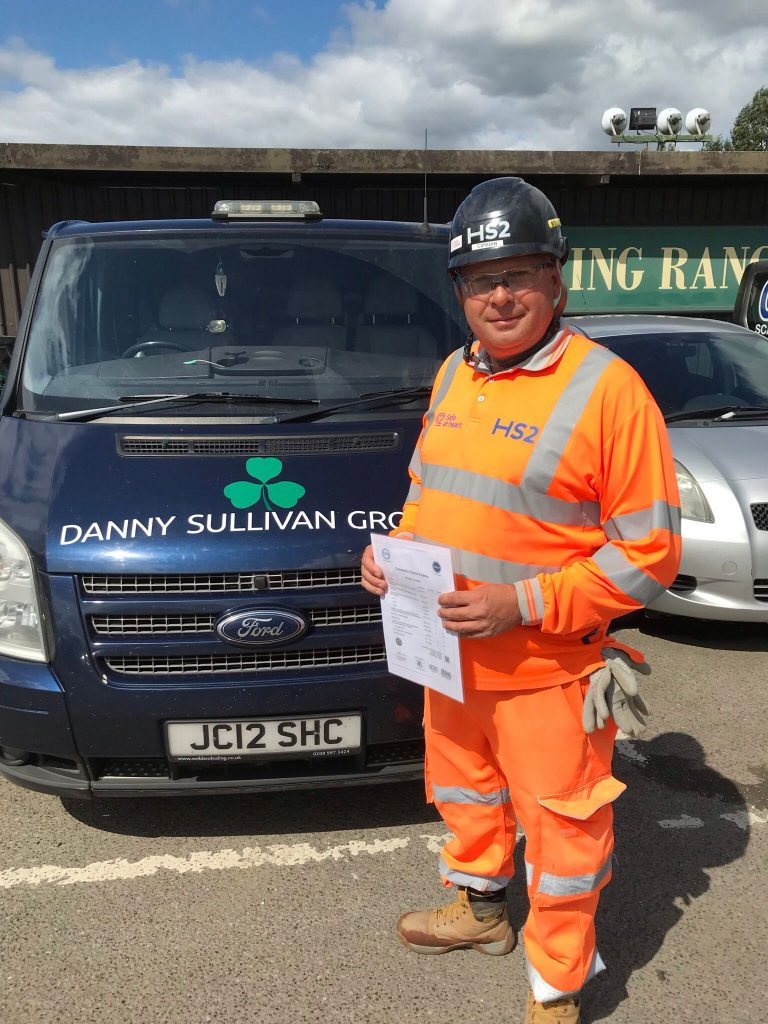 Congratulations to Constantin Ciprian Podosu on completing his NVQ Level 2 qualification