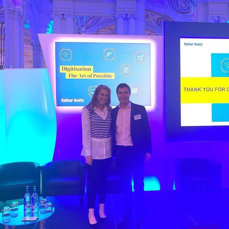 Tim and Eibhlin attend the Balfour Beatty plc strategic supplier conference.