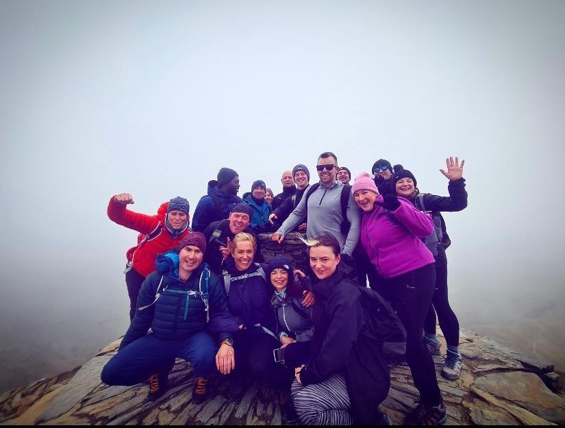 Team DSG climb Mount Snowdon in aid of National Brain Appeal